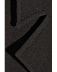 Victoria Beckham Oversized Silk and Wool-blend Vest - Lyst