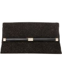 Diane von Furstenberg 440 Envelope Diamond Dust Leather Clutch - Lyst
