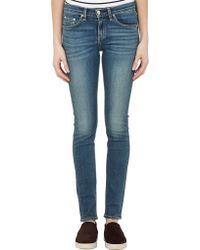 Rag & Bone High-Rise Skinny Jeans - Lyst