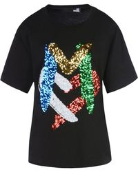 Love Moschino | Short Sleeve T-shirts | Lyst