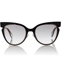 fendi cat eye sunglasses sale aa2n  Fendi  Iridia Sunglasses  Lyst