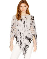 BCBGeneration - All In The Details Tie Dye Cape - Lyst