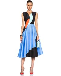 Roksanda Lansdale Dress multicolor - Lyst