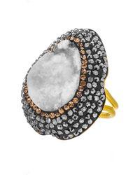 Soru Jewellery - Chalcedony Ring - Lyst
