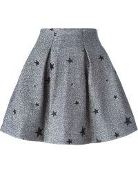 Zoe Karssen - Embroidered Star Skirt - Lyst