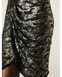 Isabel Marant Draped Skirt - Lyst