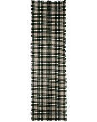 Madewell Cafe Plaid Scarf - Tent Green - Lyst