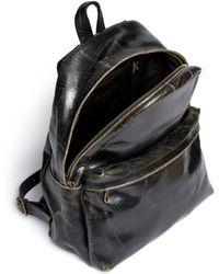Jas MB - Cracked Leather Backpack - Lyst