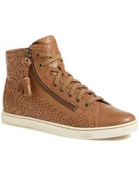 Ugg 'Blaney Seaweek' Perforated Sneaker - Lyst
