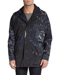 Giorgio Armani Abstract-Print Knit Jacket - Lyst