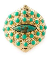 Aurelie Bidermann 'Navajo Cashmere' Ring - Lyst