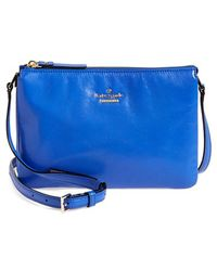 Kate Spade 'Ivy Place - Gabriella' Leather Crossbody Bag - Lyst