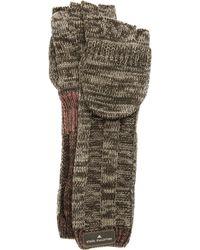 adidas By Stella McCartney - Knit Running Gloves Gingerbase Brown - Lyst