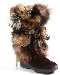 Pajar Fox Trot Fur Boots - Lyst
