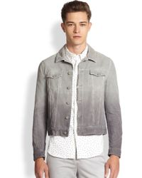 Band Of Outsiders Ombreacute Corduroy Jacket - Lyst
