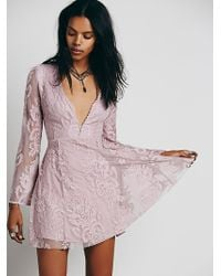 Free People Reign Over Me Lace Dress - Lyst