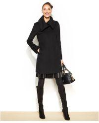 Jones New York Tweed Walker Coat - Lyst