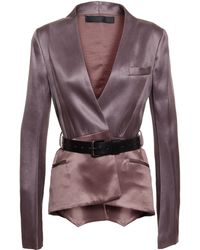 Haider Ackermann Silk-Blend Jacket - Lyst