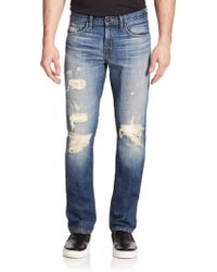 J Brand Tyler Slim-Fit Straight Leg Jeans - Lyst