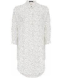 Noё Asti Shirt White Dress - Lyst