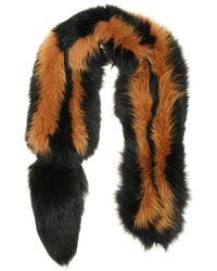 Marni Fox Fur Scarf - Lyst