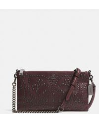 Coach Mini Studs Kylie Crossbody in Leather - Lyst