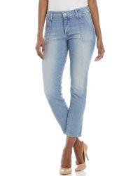 Nydj Petite Light Wash Calley Legging Jeans - Lyst