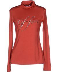 Gianfranco Ferré T-Shirt red - Lyst
