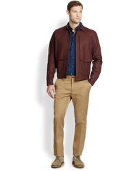F. Faconnable - Blouson Shirt Jacket - Lyst