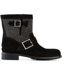 Jimmy Choo Black Youth Boots - Lyst