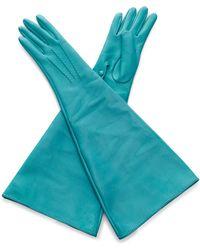 Rochas - Turquoise Opera Gloves - Lyst