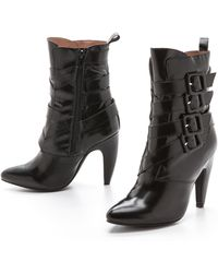Jeffrey Campbell Destroyer Buckle Boots - Black - Lyst