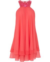 Coast Ambra Short Dress - Lyst
