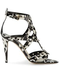 Brian Atwood Strap Sandals - Lyst