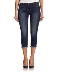 Joe's Jeans Slim Straight Cropped Jeans - Lyst