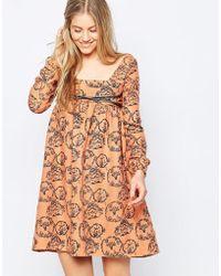 Family Affairs | Etta Dress - Orange | Lyst