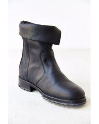 Caminando Black Zip-up Boot - Lyst