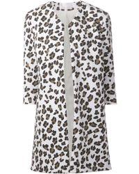 Cushnie Et Ochs Leopard Print Coat - Lyst