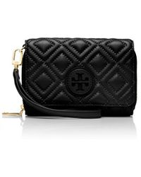 Tory Burch Marion Quilted Smartphone Wristlet - Lyst
