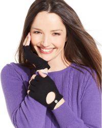 Lauren by Ralph Lauren Fingerless Moto Glove - Lyst