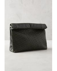 Marie Turnor | Woven Leather Dejeuner Clutch | Lyst