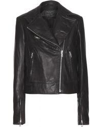 Rag & Bone - Victorian Biker Leather Jacket - Lyst