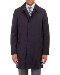 Aquascutum Slim Broadgate Raincoat blue - Lyst