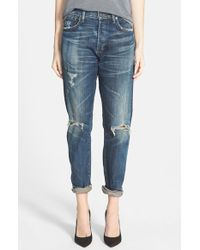 Citizens of Humanity 'Corey' Slouchy Slim Jeans - Lyst