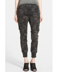 James Jeans Slouchy Cargo Pants - Lyst