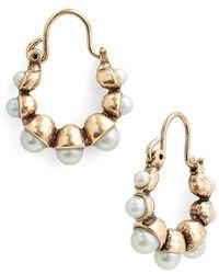 Allison Reed - 'timeless' Small Hoop Earrings - Lyst