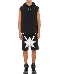 Givenchy 17 Stud Sleeveless Hoodie - Lyst