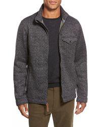 Relwen - Tweed Fleece Zip Jacket - Lyst