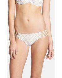 Luli Fama Multi-Braid Crochet Bikini Bottoms - Lyst