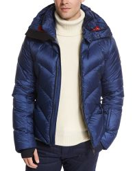 Moncler Beckler Quilted Down Puffer Jacket blue - Lyst